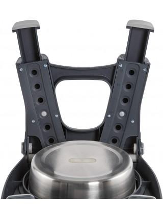 Adjustable Height Double Pet Feeder Миска подвійна із нержавіючої сталі з регульованими ніжками
