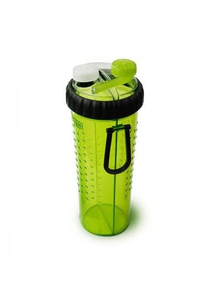 H-DuO with Companion Cup Пляшка подвійна під рідину зі складною мискою