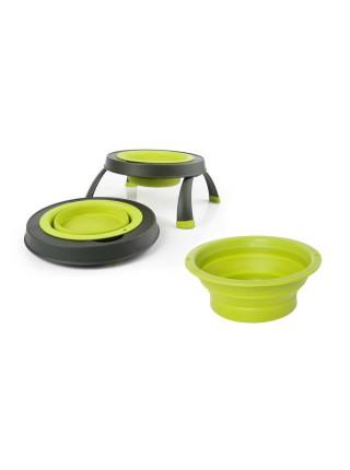 Replacement Bowls Змінні миски для великої одинарної миски на складній підставці