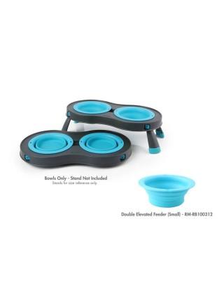 Replacement Bowls Змінні миски для малої моделі подвійної миски на складній підставці