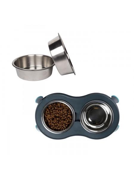 Steel Feeders Змінні миски з нержавіючої сталі для малої моделі з ніжками