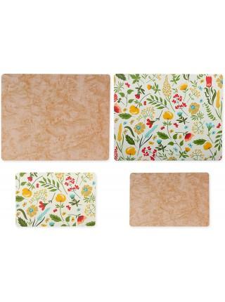 Grippmat® Set Printed Designer Color Набір дошок з кольоровим принтом 4 шт