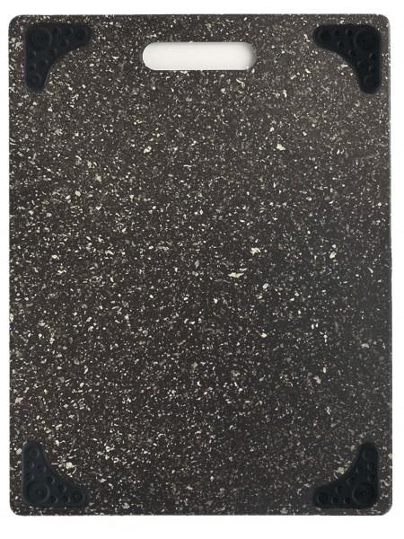 Heavy Granite Cutting Board w/Triangular Black Feet Дошка з антиковзними трикутними ніжками
