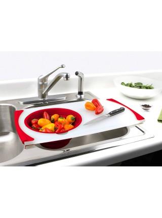 Over-The-Sink Strainer Grippboard® Дошка на раковину з друшляком