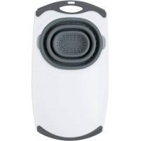 Over-The-Sink Strainer Grippboard® Дошка на раковину з друшляком сіра
