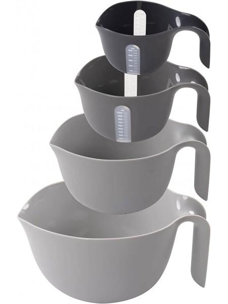 Miхing Bowl Set 4pc Набір пластикових чашок для змішування 4 шт