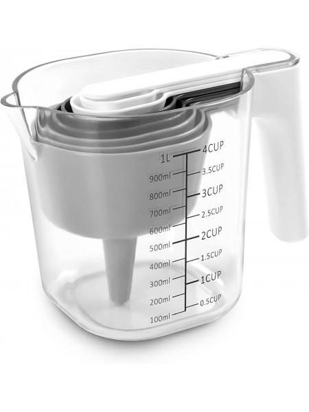Measuring Cup Set 9pc Набір мірних стаканів 9 шт